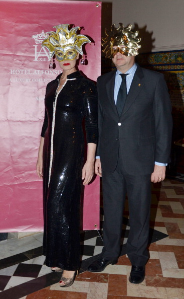 Celebrities Attend Venice Carnival Party In Seville