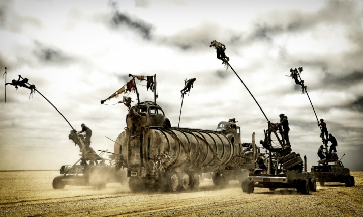 "A scene from the motion picture ""Mad Max: Fury Road."" CREDIT: Jasin Boland, Warner Bros. Pictures [Via MerlinFTP Drop]"